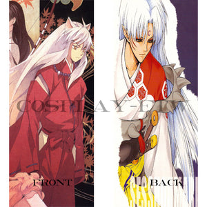 Inuyasha Pillow- Inuyasha and Sesshomaru Body Pillow Dakimakura