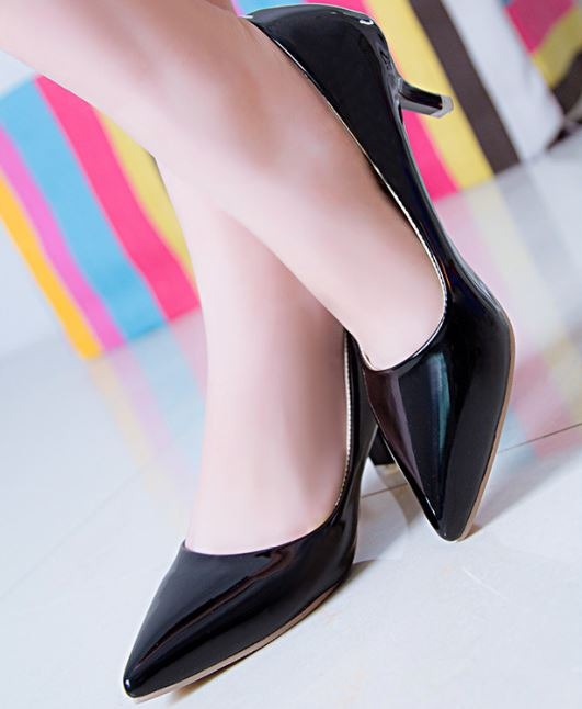 5cm Low Heel Pump Kitten Heels (3 colors available)