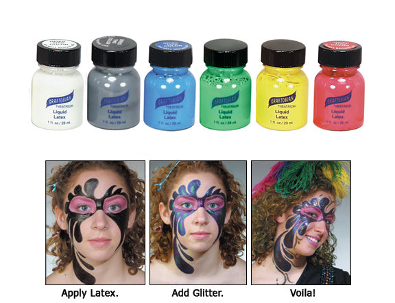 Liquid Latex - Colored - 1oz
