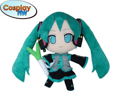 Miku Vocaloid Plush