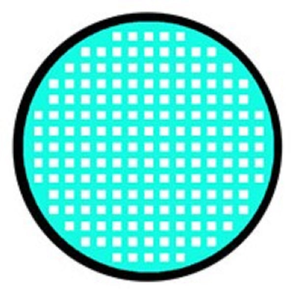 Urban Layer Cyan Mesh Contact Lenses (1 Pair)