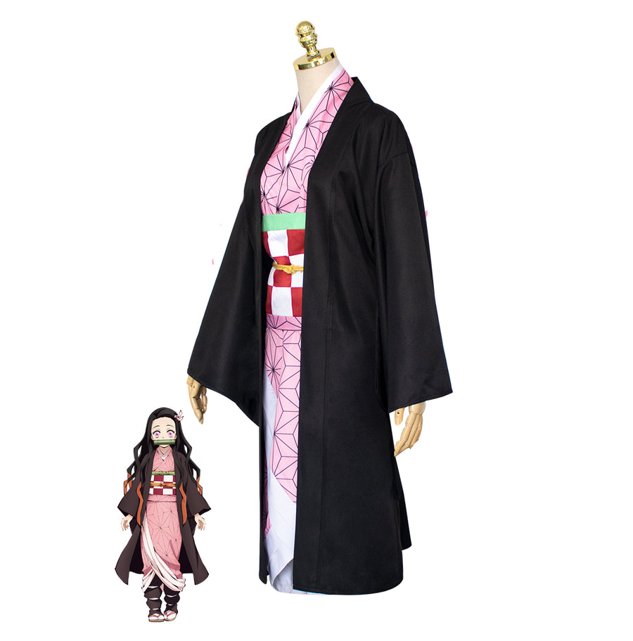 DEMON SLAYER / KIMETSU NO YAIBA Nezuko Kamado Cosplay Costume