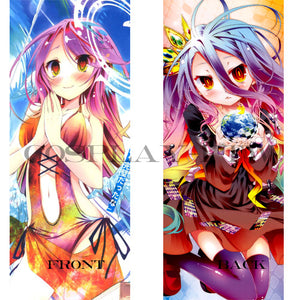 No Game No Life- Nai Shiro and Jibril Dakimakura