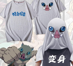 Demon Slayer Funny Inosuke T-Shirt