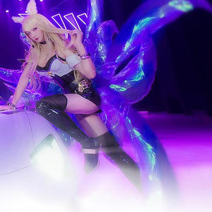 League of Legends K/DA kda Ahri Cosplay Nine-Tailed Fox Tails