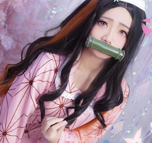 Demon Slayer Nezuko Night Gown / Demon Slayer Pajamas