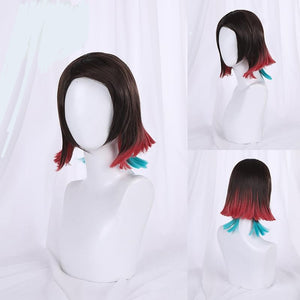 Demon Slayer Enmu Cosplay Wig / Lower Moon One Enmu