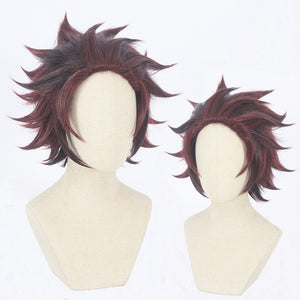 DEMON SLAYER / KIMETSU NO YAIBA Tanjiro Kamado Wig