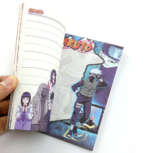 Naruto Make-Out Paradise Notebook / Jiraiya Book / Kakashi Book