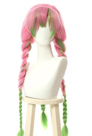 Demon Slayer Love Pillar Mitsuri Kanroji Cosplay Wig