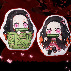 Demon Slayer Nezuko Kamado Standing Plush Pillow