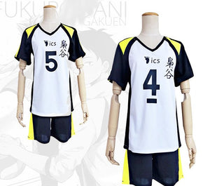 Haikyuu!! Team Fukurodani Jersey Cosplay Costume