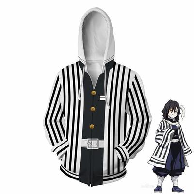 Demon Slayer 3D All Over Print Obanai Iguro Style Hoodie