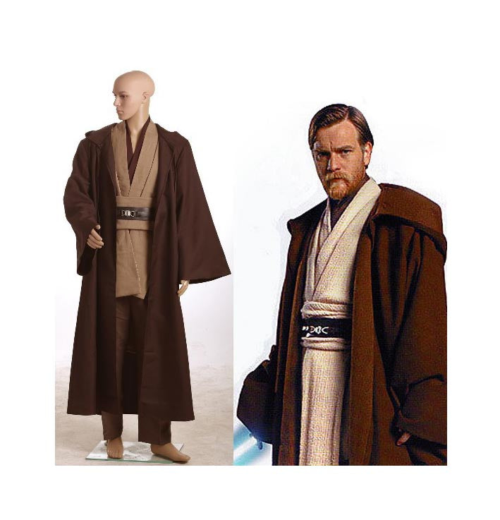 Star Wars Obi-Wan Jedi Robe Costume