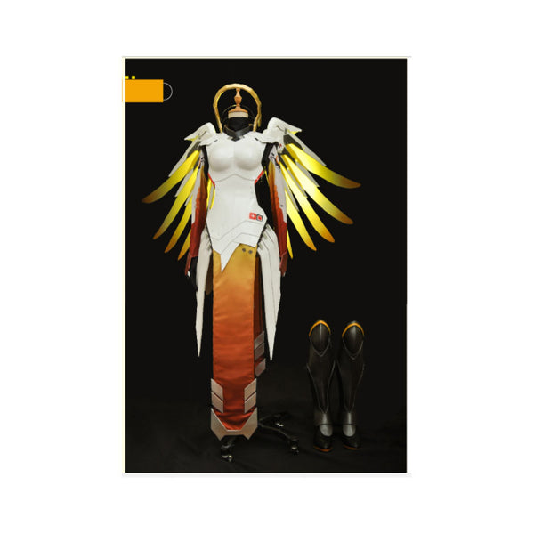 Overwatch Mercy Cosplay Costume