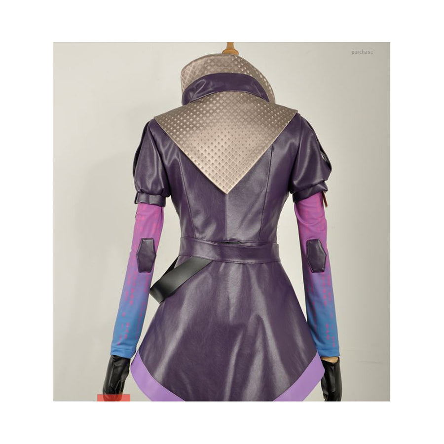 Overwatch Sombra Cosplay Costume