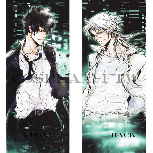 PSYCHO-PASS Pillow - Shinya Kogami and Shogo Makishima Dakimakura