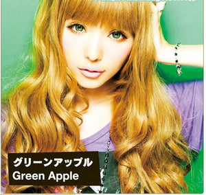 Geo Princess Mimi Apple Green Contact Lenses