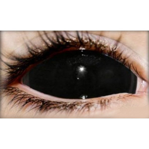 Black Sclera Lenses (Full eye 22mm)