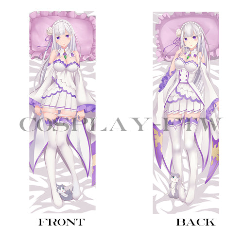 Re: Zero Starting Life in Another World Emilia pillow