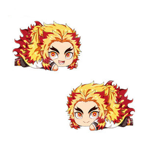 Demon Slayer Kyojuro Rengoku Plush Pillow