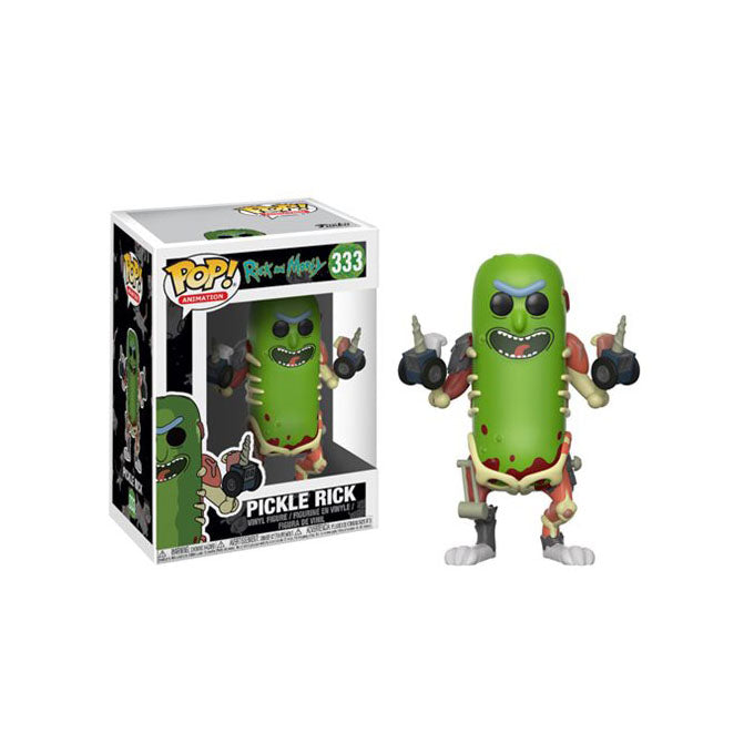 Rick and Morty Pickle Rick Pop! Vinyl Figure #332