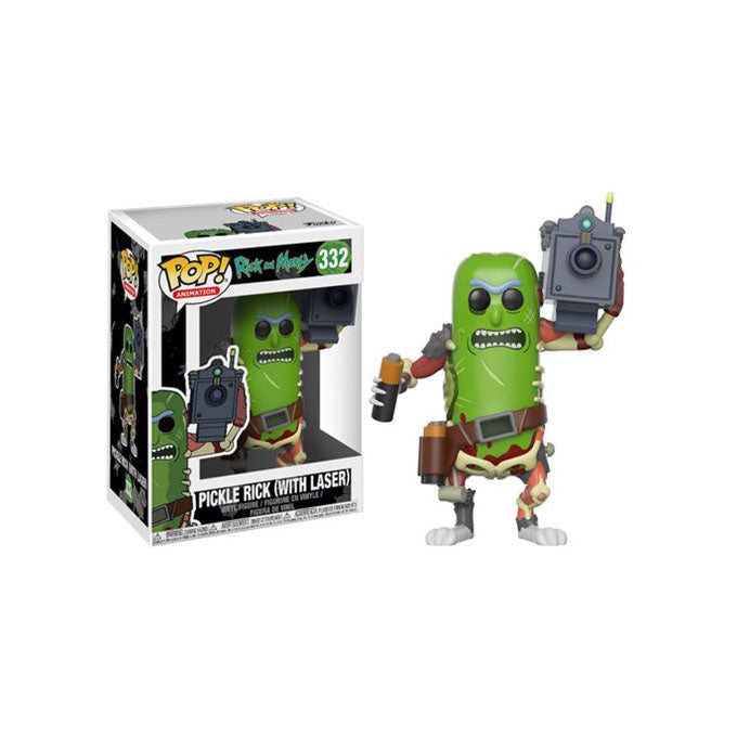 Rick and Morty Pickle Rick Pop! Vinyl Figure #333