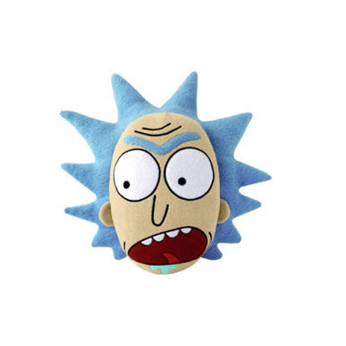 Rick and Morty Screaming Rick Face Pillow