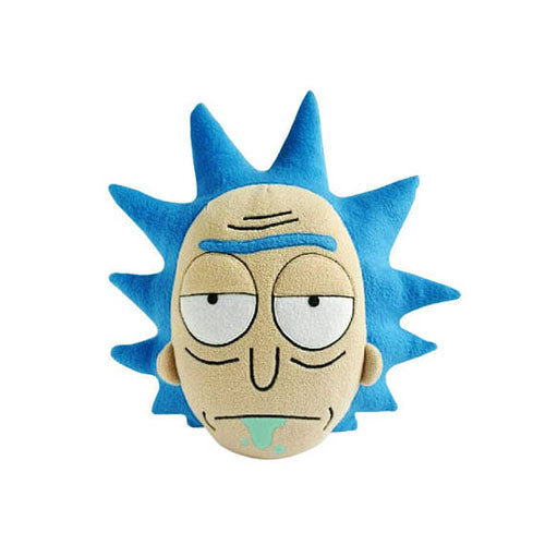 Rick and Morty Unimpressed Rick Face Pillow