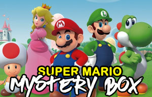 Super Mario Anime Mystery Box | Anime Mystery Box | Fast Shipping (Limited Quantities)