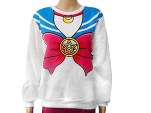 Sailor Moon Pullover Sweater