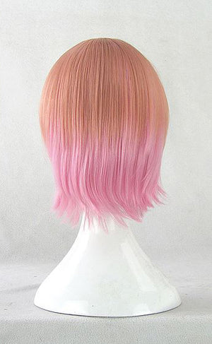 Orange-Pink Gradient Cosplay Wig