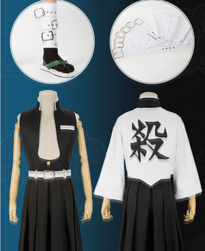 Demon Slayer Wind Pillar Sanemi Shinazugawa Cosplay Costume