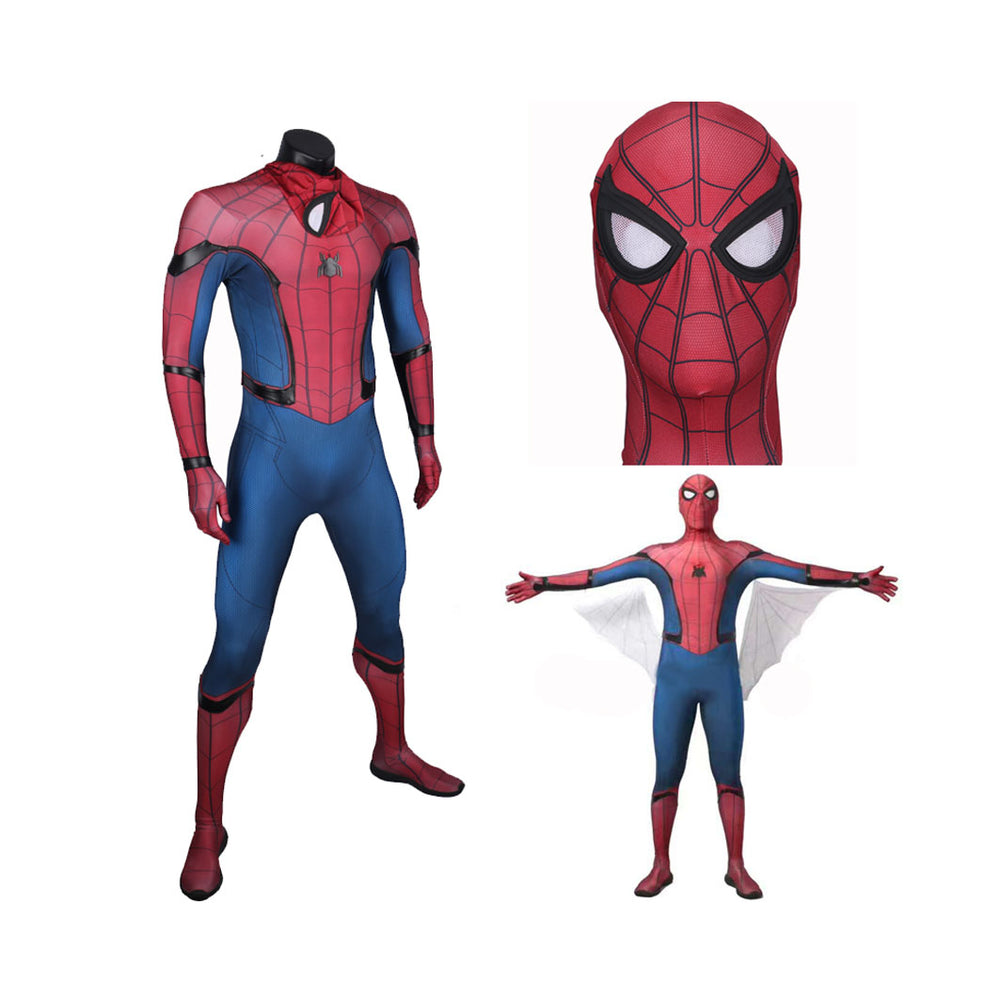 The Avengers Spider-Man Homecoming Cosplay Costume