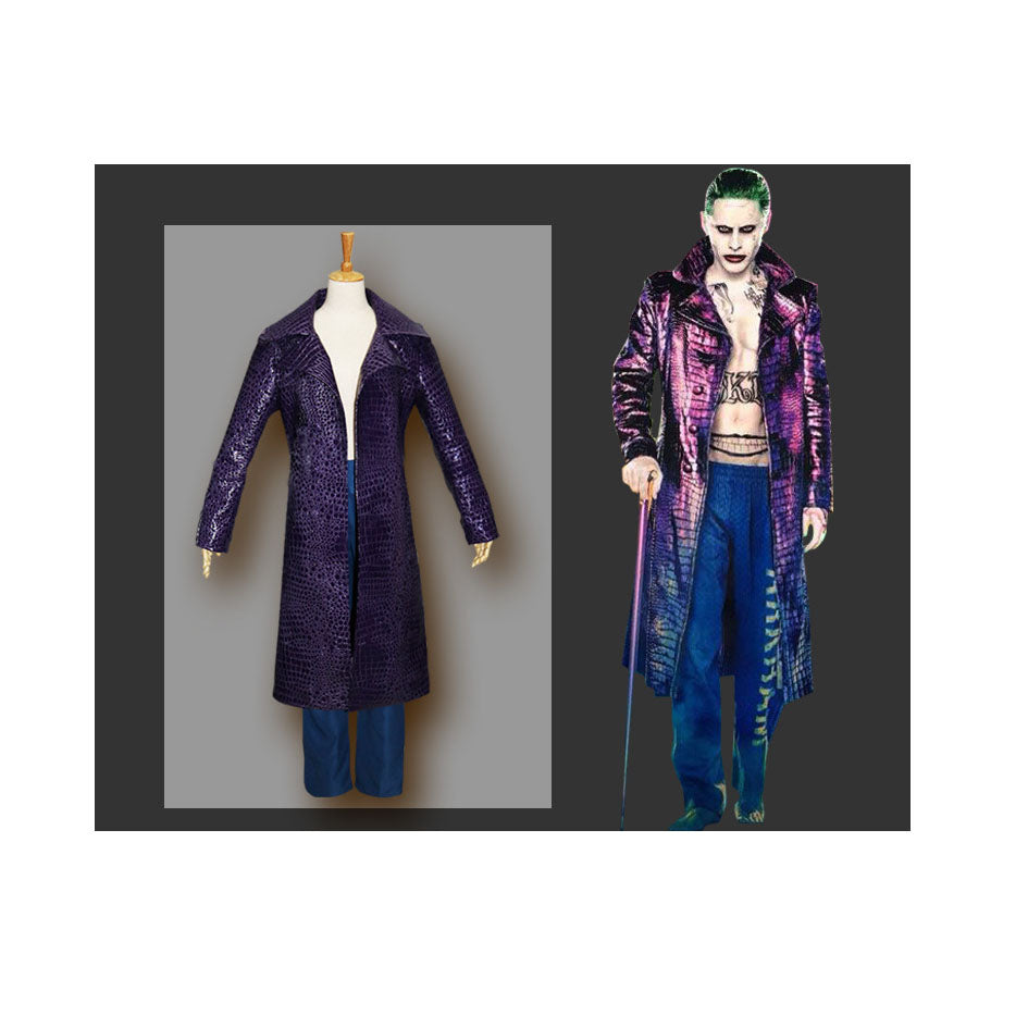 Suicide Squad Joker Leather Jacket (Synthetic Leather)