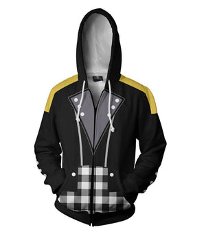 Kingdom Hearts Cosplay Hoodie Style 2 (Multiple Colors Available)