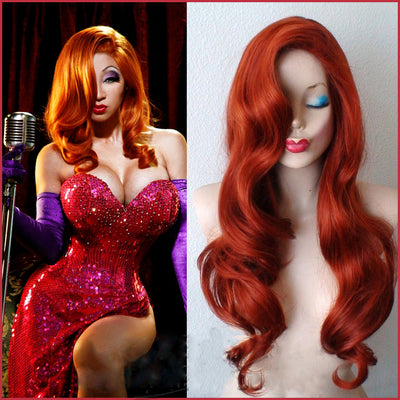 Who Framed Roger Rabbit Jessica Rabbit Cosplay Wig