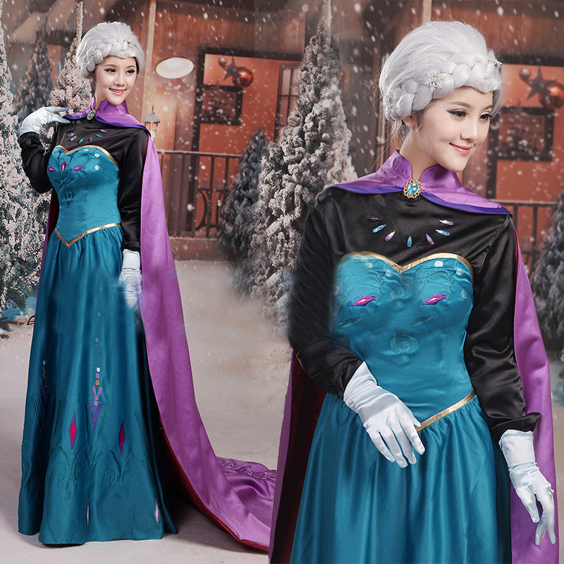 Frozen Elsa Costume Gown