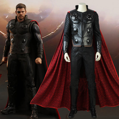 The Avengers: Infinity War Thor Costume