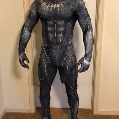 The Black Panther Erik Killmonger Jaguar Costume