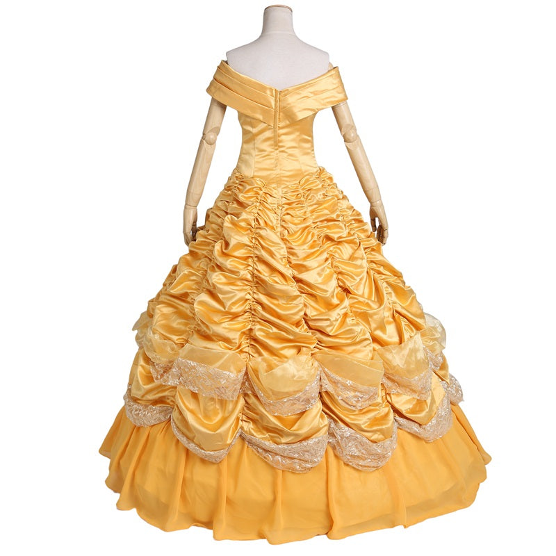 Beauty and The Beast Princess Belle Costume Gown