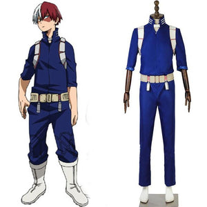 My Hero Academia Shoto Todoroki 2nd Hero Costume
