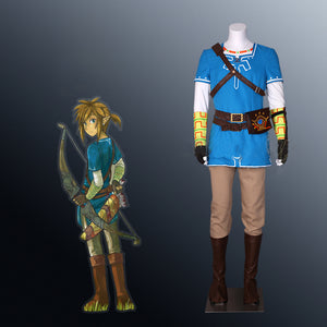 The Legend of Zelda Breath of The Wild Link Costume