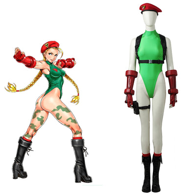 Street Fighter 5 Cammy Costume