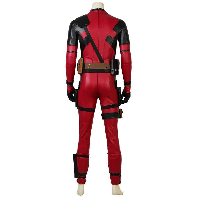 Deadpool 2 Deadpool Full High Quality Synthetic Leather Costume