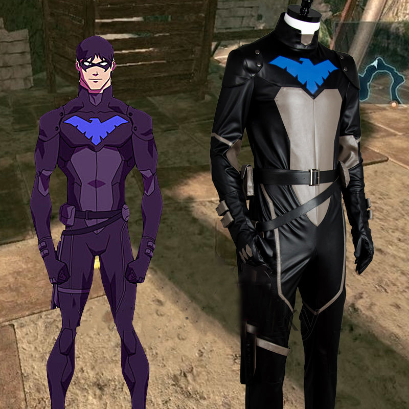 Young Justice Leatherized Cosplay Costume