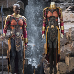The Black Panther Dora Milage Okoye Costume