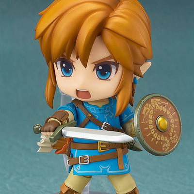 GOOD SMILE The Legend of Zelda Breath of the Wild Nendoroid Link Collectible Figurine