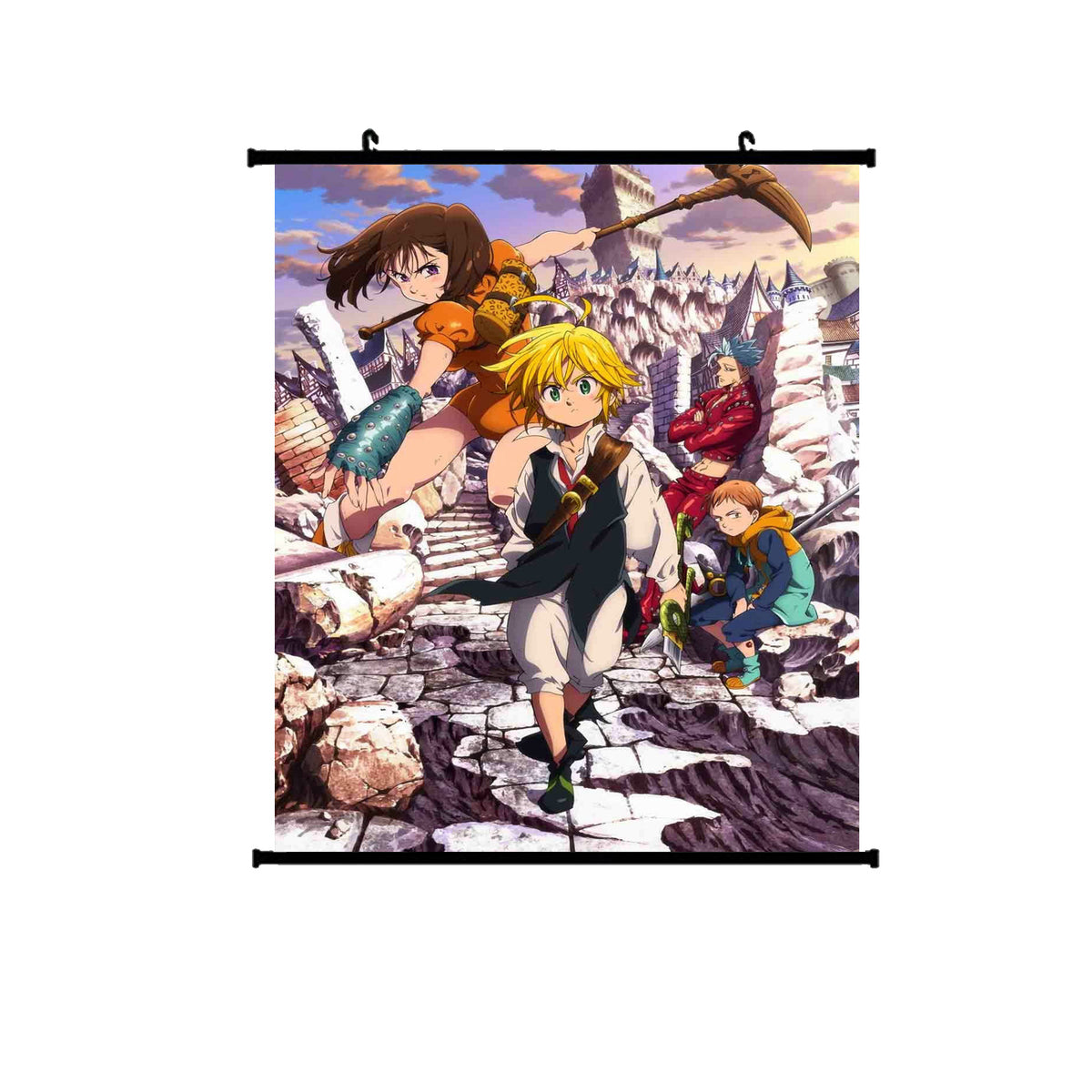 The Seven Deadly Sins Season 2 Wallscroll