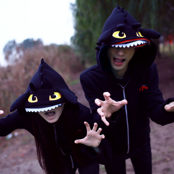 How To Train Your Dragon Toothless Deluxe Hoodie